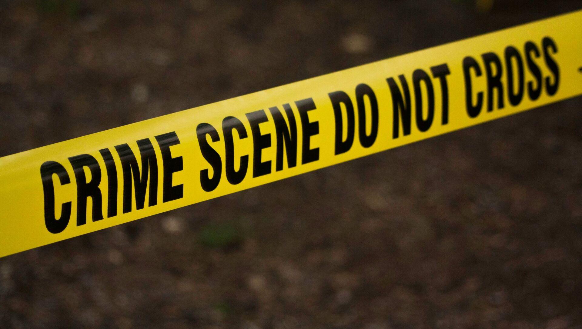 US police crime scene tape - Sputnik International, 1920, 23.06.2021