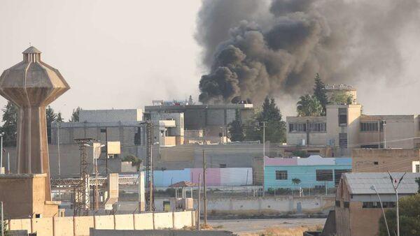 View of Tell Abiad, Syria - Sputnik International