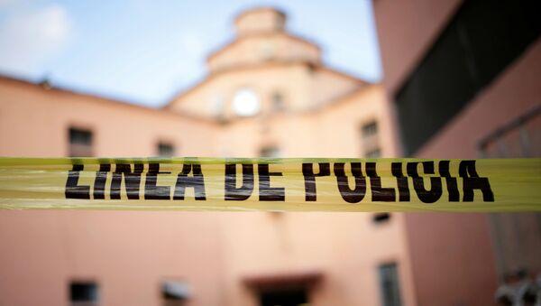 Mexico Police Line Cordon - Sputnik International