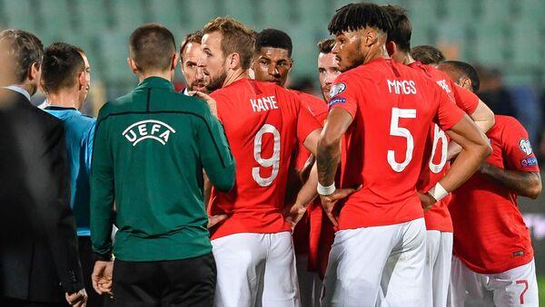 England players in Sofia - Sputnik International