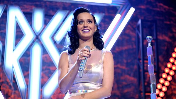 Katy Perry performs at her iHeartRadio Prism album release party at the new iHeartRadio Theatre on Tuesday, Oct. 22, 2013, in Burbank, Calif.  - Sputnik International