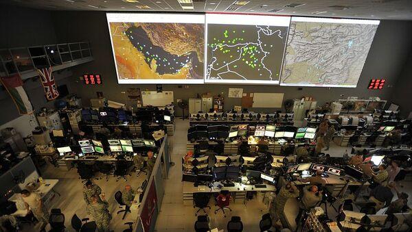 Combined Air Operations Center (CAOC) at Al Udeid Air Base, Qatar - Sputnik International