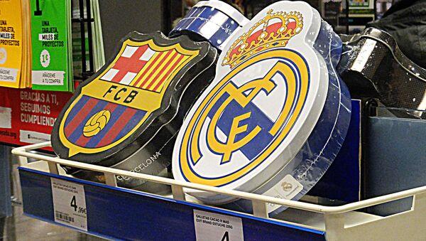 Real Madrid and Barcelona F.C.B. - Sputnik International