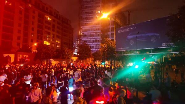 Protest over deteriorating economic situation, in Dora, Lebanon - Sputnik International