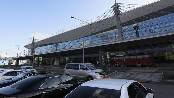 Krasnoyarsk airport - Sputnik International