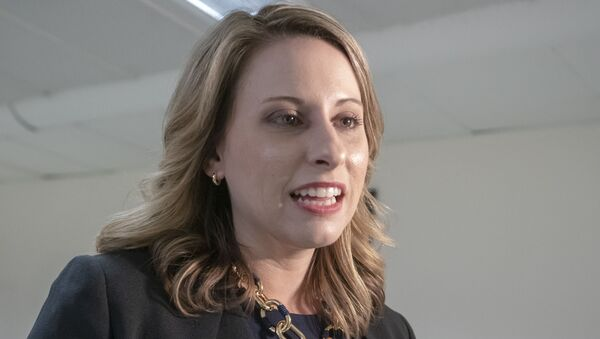 Rep. Katie Hill - House Democrats 100 Days - Sputnik International