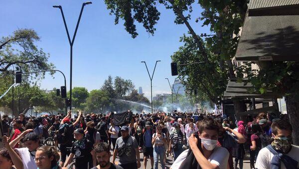 Protests in Chile - Sputnik International