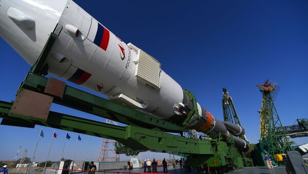 Soyuz-2 Rocket With Soyuz MS-14 Spacecraft - Sputnik International