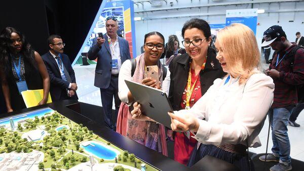 Russia-Africa Economic Forum. Day One - Sputnik International