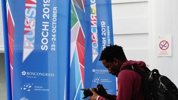 Russia-Africa economic forum in Sochi - Sputnik International