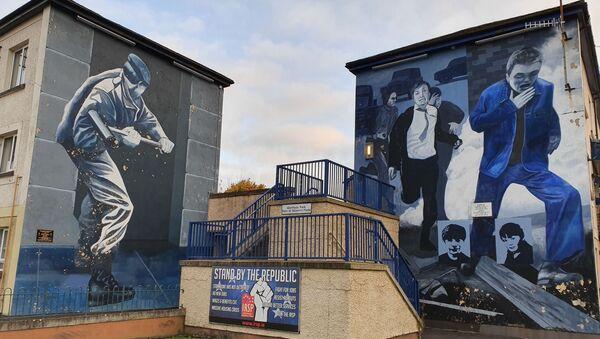 Republican murals in the Bogside, Derry - Sputnik International