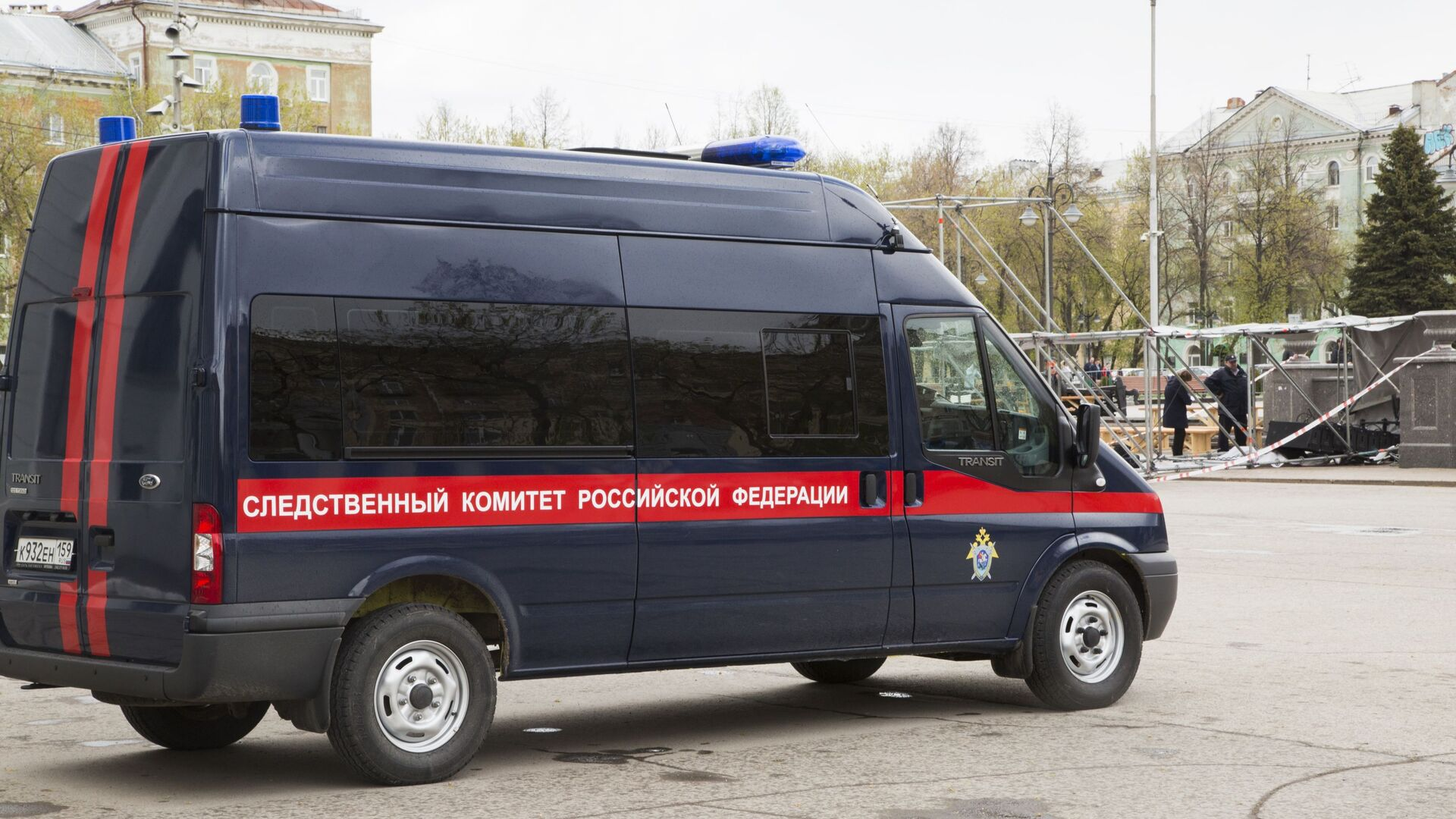 A vehicle of the Russian Investigative Committee (File) - Sputnik International, 1920, 28.09.2021