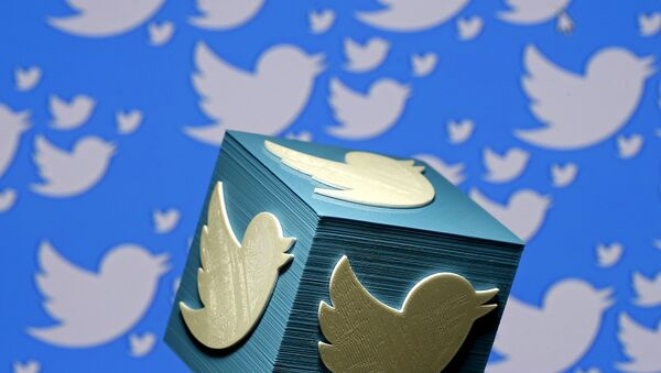 A 3D-printed logo for Twitter - Sputnik International