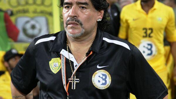 Diego Maradona - Sputnik International