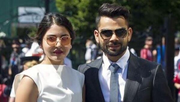 Virat Kohli and Anushka Sharma  - Sputnik International