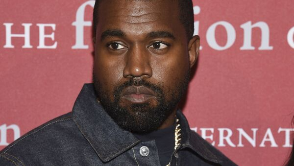 Recording artist Kanye West attends The Fashion Group International's annual Night of Stars gala at Cipriani Wall Street on Thursday, Oct. 24, 2019, in New York - Sputnik International