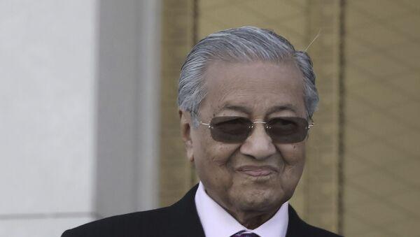 Malaysian Prime Minister Mahathir Mohamad - Sputnik International