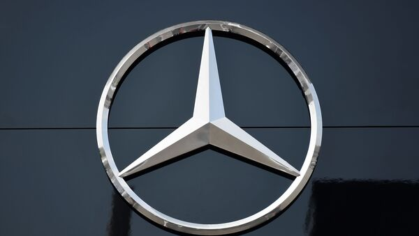 The logo of Mercedes  - Sputnik International