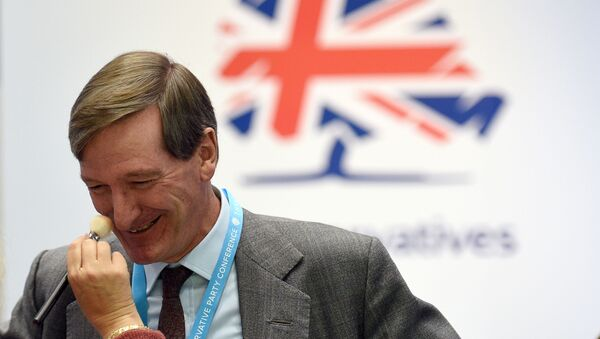 Expelled Conservative MP Dominic Grieve attends the second day of the annual Conservative Party conference at the Manchester Central convention complex in Manchester, north-west England on September 30, 2019. - Sputnik International