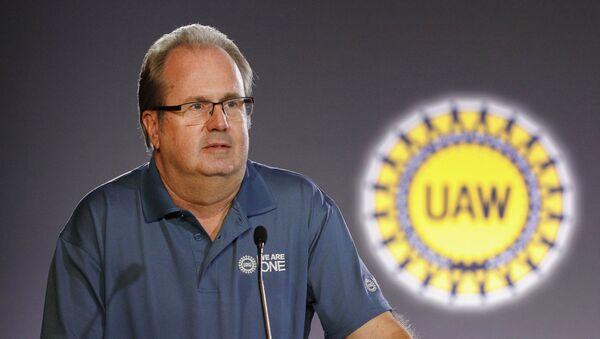 United Auto Workers President Gary Jones - Sputnik International