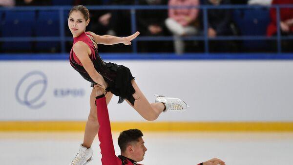 Anastasia Mishina and Alexandr Galliamov - Sputnik International