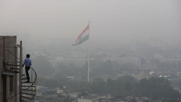 Smog and dust in New Delhi - Sputnik International