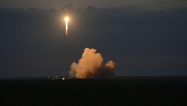 Soyuz-2.1b rocket with Glonass satellite - Sputnik International