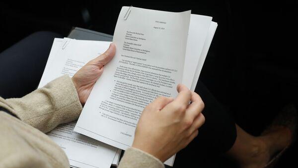 A copy of the Whistle-Blower Complaint letter - Sputnik International