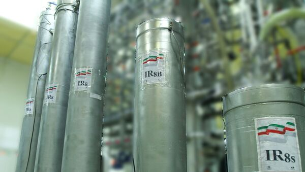 Atomic enrichment facilities at Iranian Nataz nuclear power plant - Sputnik International
