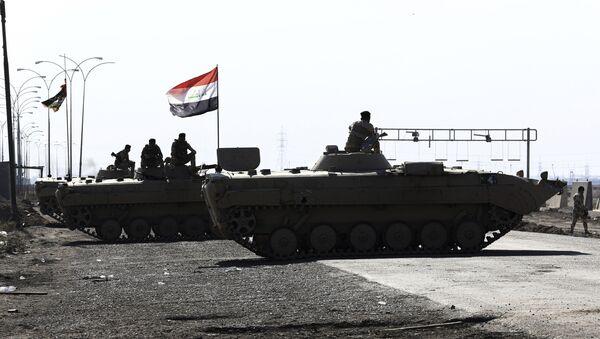 Iraqi security forces try to reopen Umm Qasr port - Sputnik International