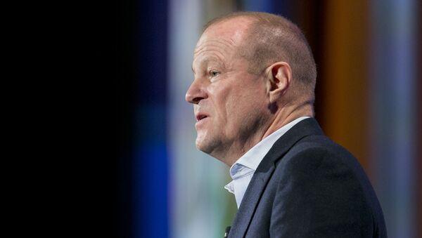 Art Peck, CEO of Gap, speaks at the Clinton Global Initiative - Sputnik International