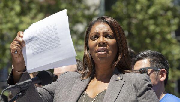 New York Attorney General Letitia James - Sputnik International