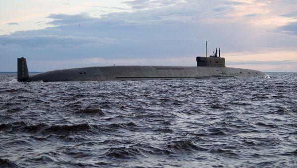 Russian Submarine Knyaz Vladimir of Borey-A Class - Sputnik International