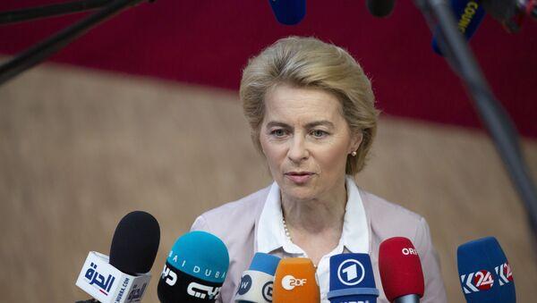 European Commission President Ursula von der Leyen - Sputnik International
