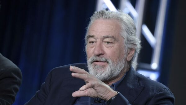 Robert De Niro attends the The Wizard of Lies panel at the HBO portion of the 2017 Winter Television Critics Association - Sputnik International