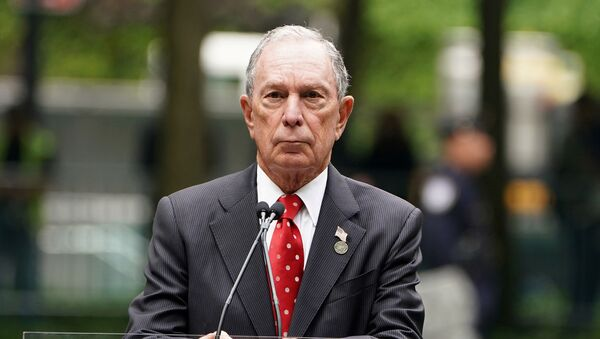 Former Mayor of New York Michael Bloomberg speaks in the Manhattan borough of New York, New York, U.S., May 30, 2019 - Sputnik International