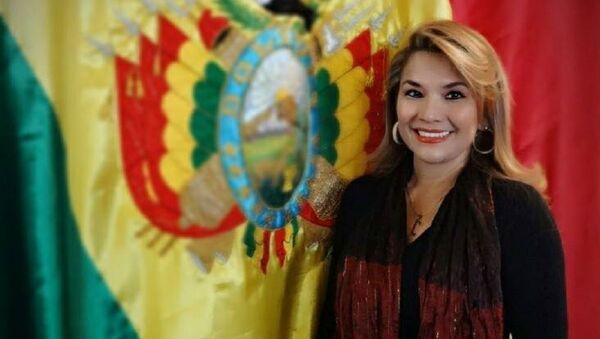 Jeanine Añez Chavez - Sputnik International