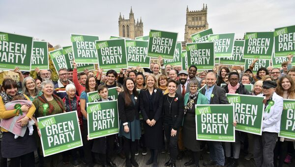 Green Party candidates in 2019 election - Sputnik International