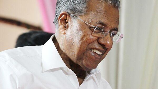 Pinarayi Vijayan, the Chief Minister of Kerala - Sputnik International