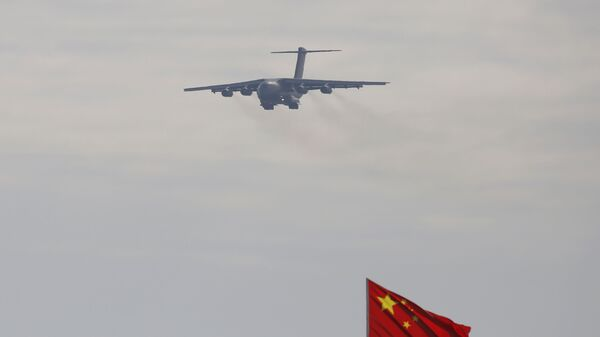 A Y-20 transport aircraft at the 12th China International Aviation and Aerospace Exhibition - Sputnik International