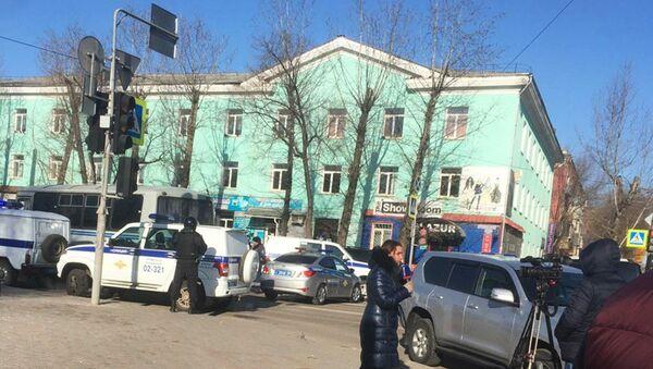 Shooting at the College of Blagoveshchensk - Sputnik International