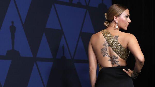 2019 Governors Awards - Arrivals - Los Angeles, California, U.S., October 27, 2019 - Scarlett Johansson - Sputnik International