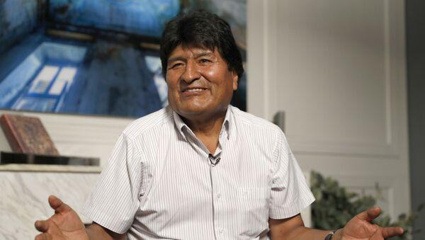 Former Bolivian President Evo Morales in Mexico City - Sputnik International