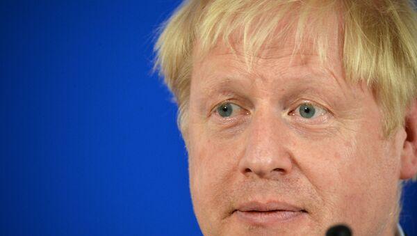 UK PM Boris Johnson - Sputnik International