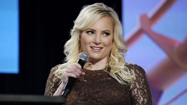 Meghan McCain, co-host of Pivot's TakePart Live, addresses reporters during  Pivot's panel at the Winter 2014 Television Critics Association Press Tour on Saturday, 11 January 2014, in Pasadena, California. (Photo by Chris Pizzello/Invision for Participant Media/AP Images) - Sputnik International