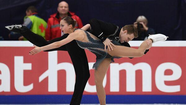 Aleksandra Boikova and Dmitrii Kozlovskii in Moscow - Sputnik International