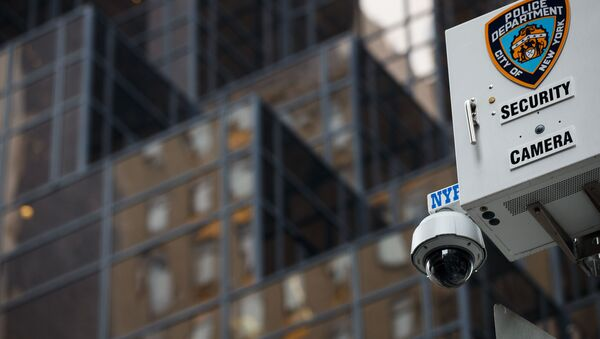 A security camera in New York City - Sputnik International