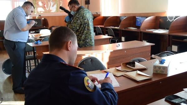 a 19-year-old student opened fire inside the college of construction and utilities in Blagoveshchensk, killing one person and injuring three others. - Sputnik International