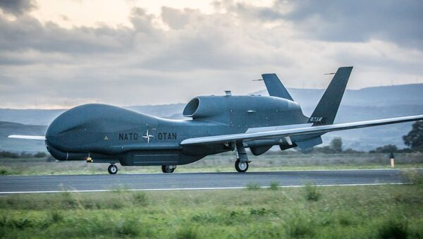 NATO RQ-4D Drone - Sputnik International