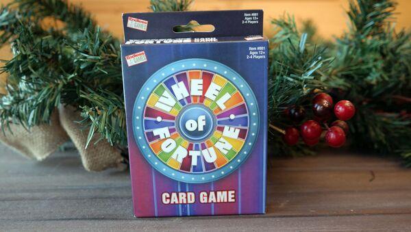 Wheel of fortune, card game - Sputnik International